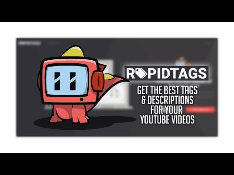 How To Get The Best Tags For YouTube Videos - RapidTags Review