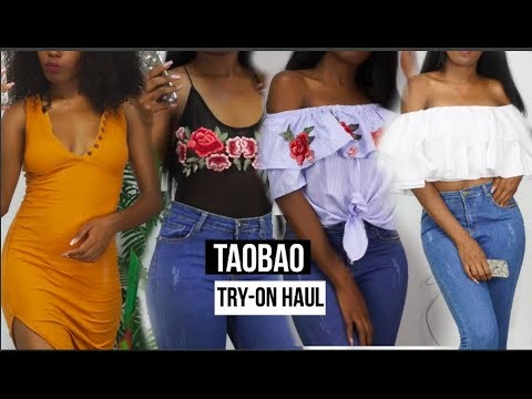 TAOBAO TRY-ON HAUL |BUY MAKEUP,  SHOES & CLOTHING IN CHINA