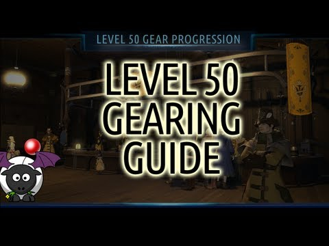 Level 50 Gearing Guide/Progression Final Fantasy XIV A Realm Reborn
