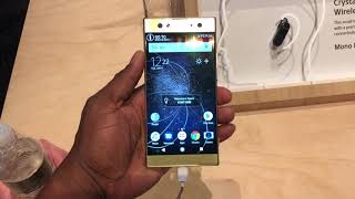 Sony Xperia XA2 ULTRA | First Impressions CES 2018
