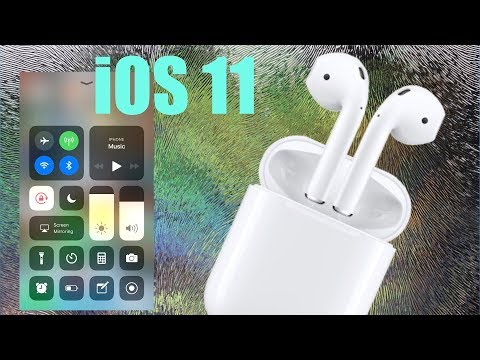AirPods with iOS 11!