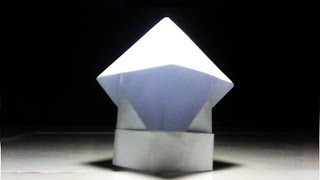 How To Make a Origami Helmet - Unique - Very Easy