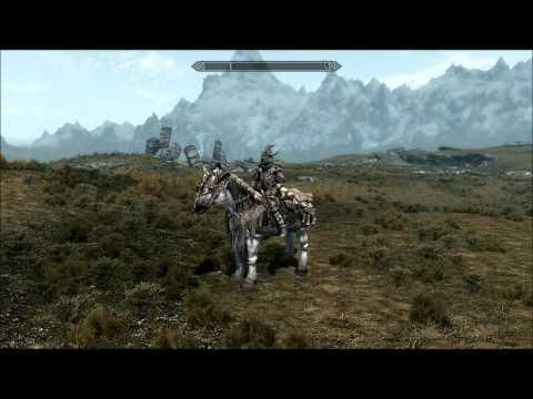 Skyrim - Dragon Horse Armor