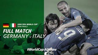 #WorldCupAtHome   Germany v Italy (Germany 2006)