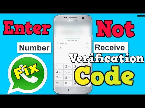 100% Fix Whatsapp Verification Code Not Receive Problem
