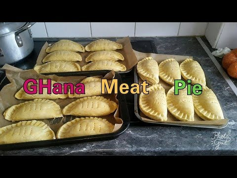 How to Make Ghana Meat Pie/Fish Pie