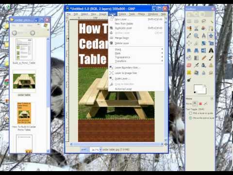 Gimp Tutorial To Create Kindle E-Book Cover