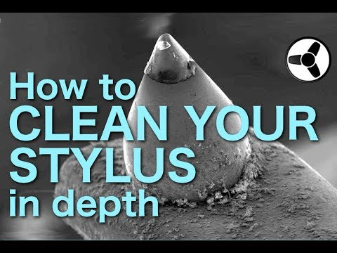 How to clean in depth the stylus of your turntable cartridge