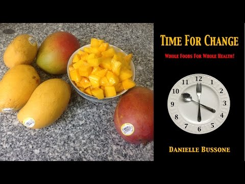 How to Choose and Cut Ripe Mangos