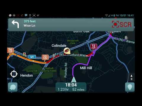 Waze - Your Smart Phone Avoids Traffic Jams & Queues