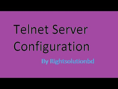 How to configure telnet server in Linux