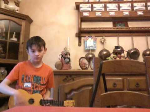 Vidéo de mon ukoulele
