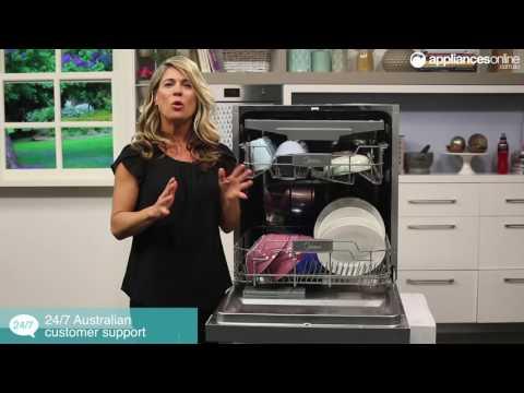Midea WQP12-7309A-AU Semi Integrated Dishwasher Overview - Appliances Online