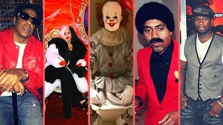 """Rappers React To """"Halloween"""" and Rappers Show Off Their Costumes (50 Cent Cardi B Nas Lebron Jay-Z)"""