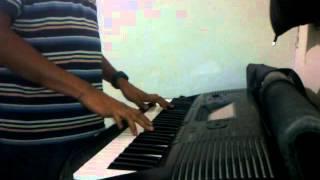 Akele Hain Toh Kya Gum Hai ... Simple Piano By Abhinav Poonia