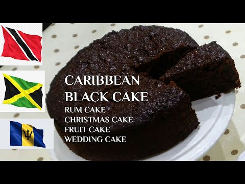 FRUIT CAKE  Recipe (Christmas cake, BLACK CAKE, Wedding cake)