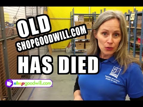 The Old ShopGoodwill.com has Died! RIP