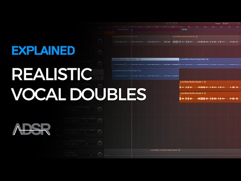 How to Create Realistic Vocal Doubles