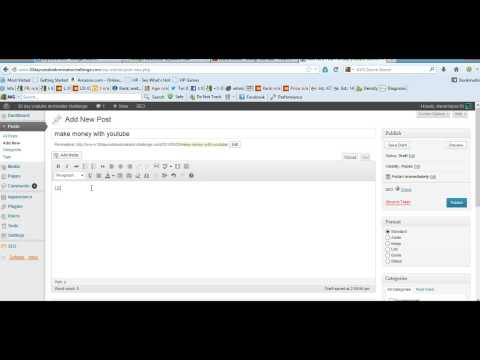 How Do I Embed A Video | On My Wordpress Blog