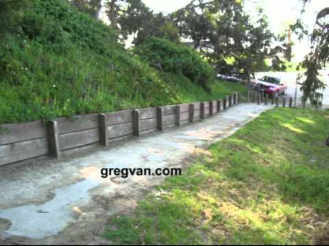Wood Retaining Wall Tips - Low Cost Landscaping
