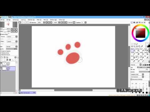 Salvando png - Paint tool Sai