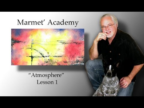 Learn to paint abstract art! Easy abstract art lessons! ALL FREE