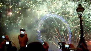 London New Year Fireworks 2011