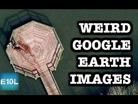 10 WEIRD Google Earth Images