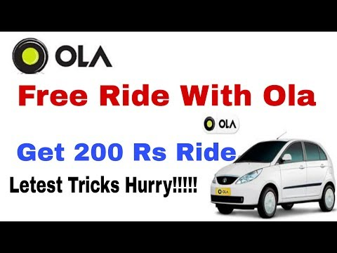 Ola Free Unlimited Riding trick|Old & New Both Users | Get Rs 200 Free Ride. (LOOT OVER)