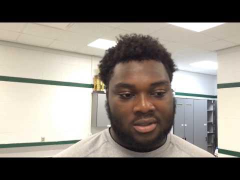 Detroit Cass Tech WR Donovan Peoples-Jones and OG Michael Onwenu talk about recruiting process