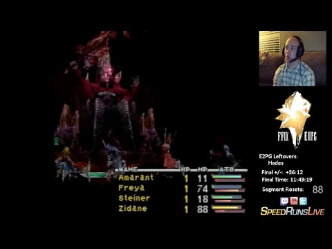 FF9 Excalibur II Perfect Game | Leftovers - Hades