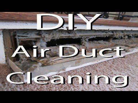 DIY - Clean Your Air Heat Vents