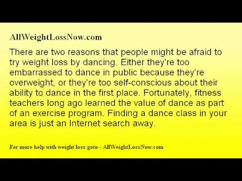 An Awesome Alternative Weight Loss By Dancing