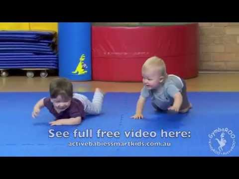 Crawling and Creeping: The Benefits. GymbaROO Online.