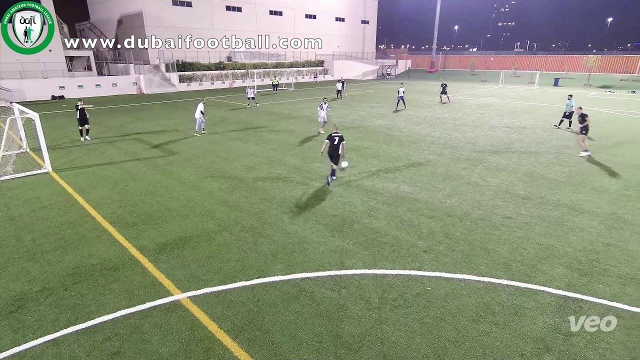 Soccer Scene vs Real Majid - DAFL New Year 7 a side. Segunda Week 4 www.dubaifootball.com