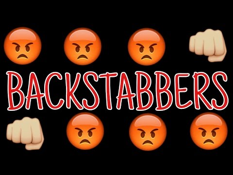 Two Faced Backstabbing People