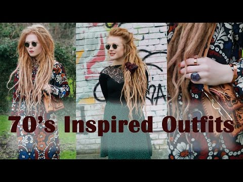 70's Inspired Outfits   Lookbook