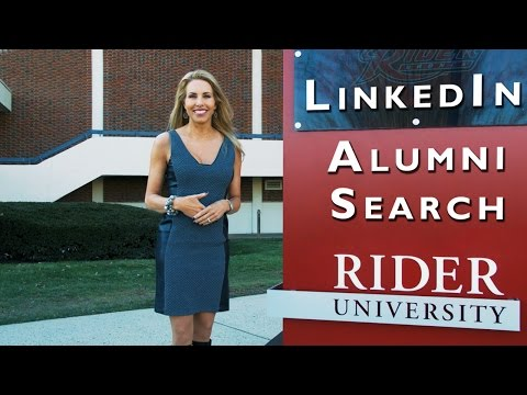 How to Use LinkedIn's Alumni Search