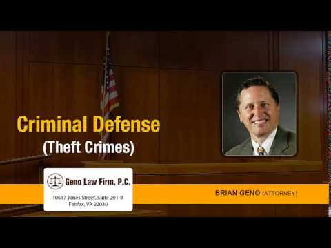How Are People Affected By Theft Charges On Their Criminal Records In Virginia? | (703) 691-4366