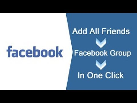 Invite All Friends to Facebook Group Automatically with One Click 2018