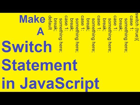 Javascript Switch Statement