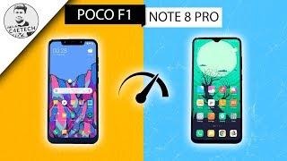 Redmi Note 8 Pro vs POCO F1 SpeedTest - Very Unexpected Results!!!