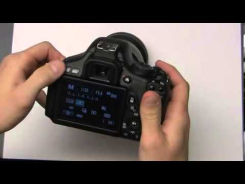 Setting an IR custom white balance with CANON cameras
