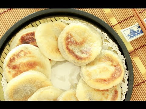 How to Make Pan-fried Glutinous Rice Cakes 燒餅 ( HEALTHY VERSION )