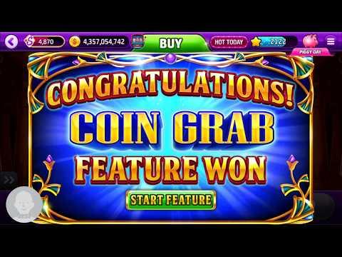 Slotomania coin grab Mega win