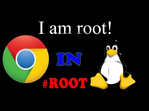 How to run google chrome as root user in linux