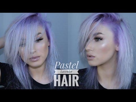 PASTEL LAVENDER HAIR | My hair dye routine | lolaliner