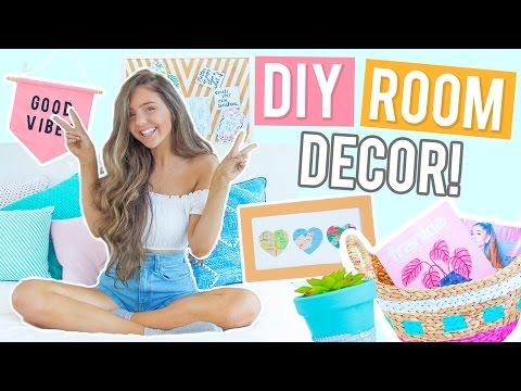 DIY Room Decor Ideas 2017! CHEAP + EASY Ideas Inspired by Pinterest!