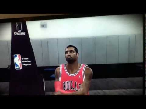 NBA 2K12 My Player Endorsements: Jordan Shoe Commercial