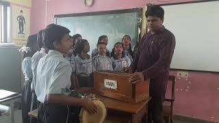Zanda Geet. Vijayi Vishwa Tiranga Pyara. nmmc school no.36